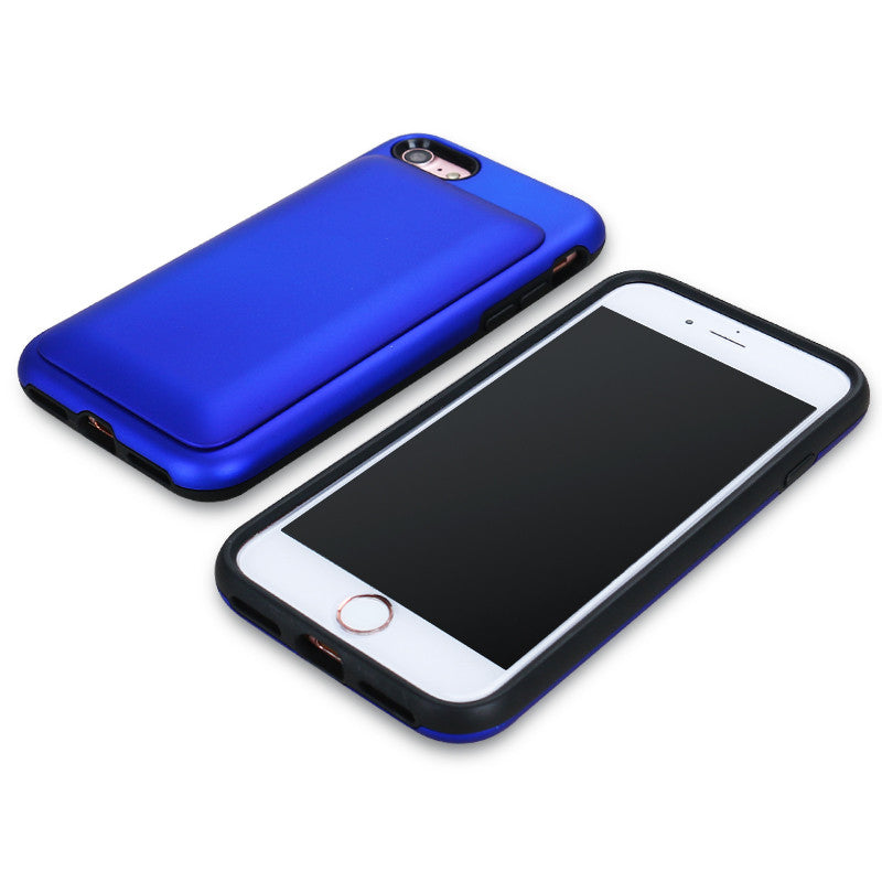 Case with Cord - Blue