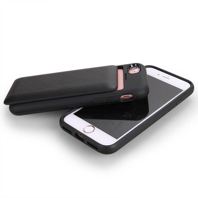 Case Only - Black Leather