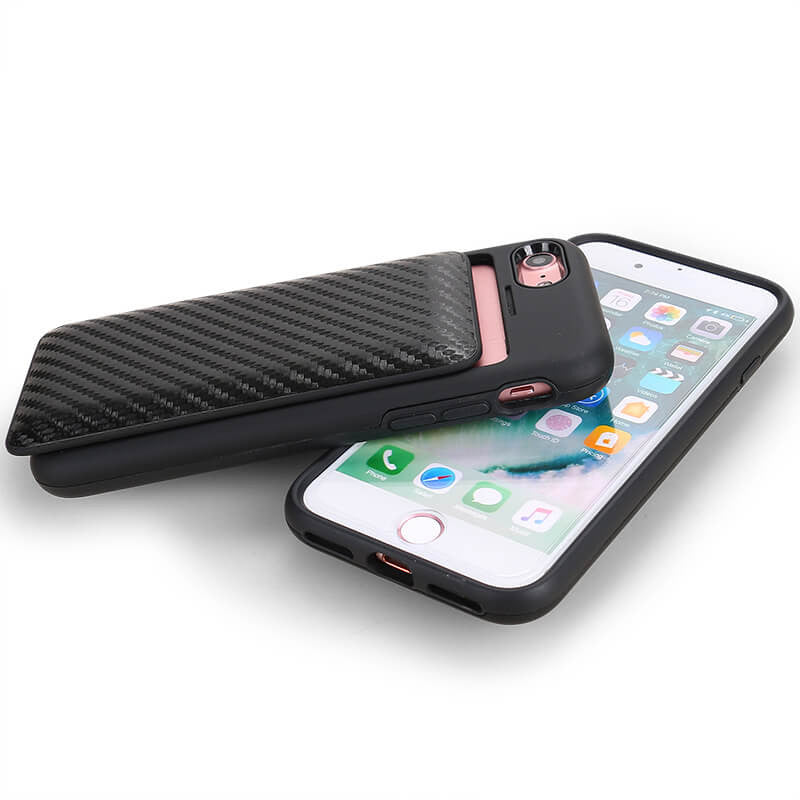 Case with Cord - Carbon Fiber