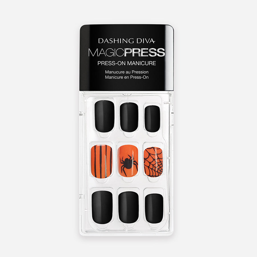 Orange You Scared | Magic Press Nails by Dashing Diva