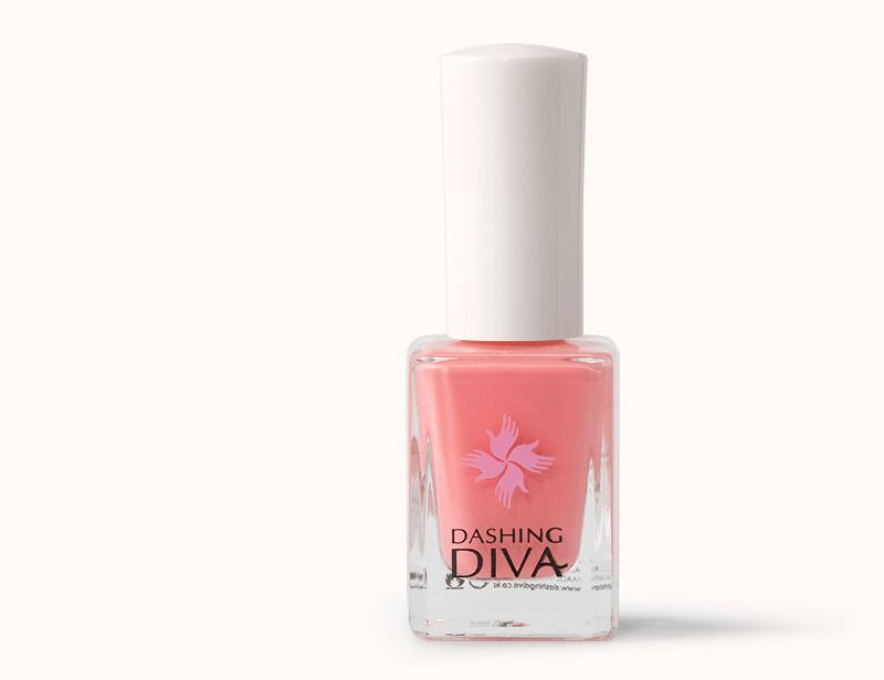 Coral Pink Sandy Nail Polish DKP019 - Dashing Diva.jpg