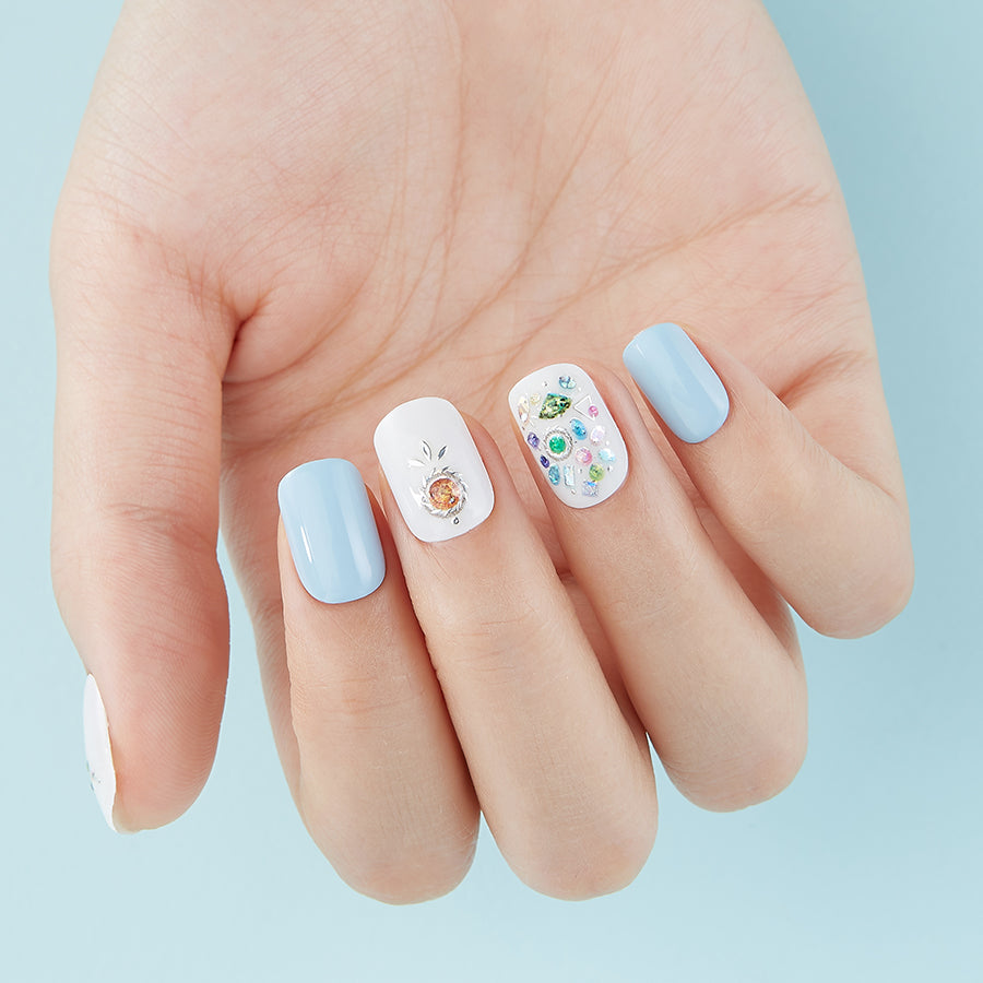 Seas Glass | Nail Art Transfers by Dashing Diva