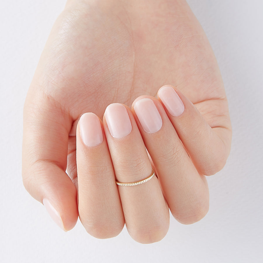 Barely There | Tint Gloss Nude Gel Nail Strips by Dashing Diva