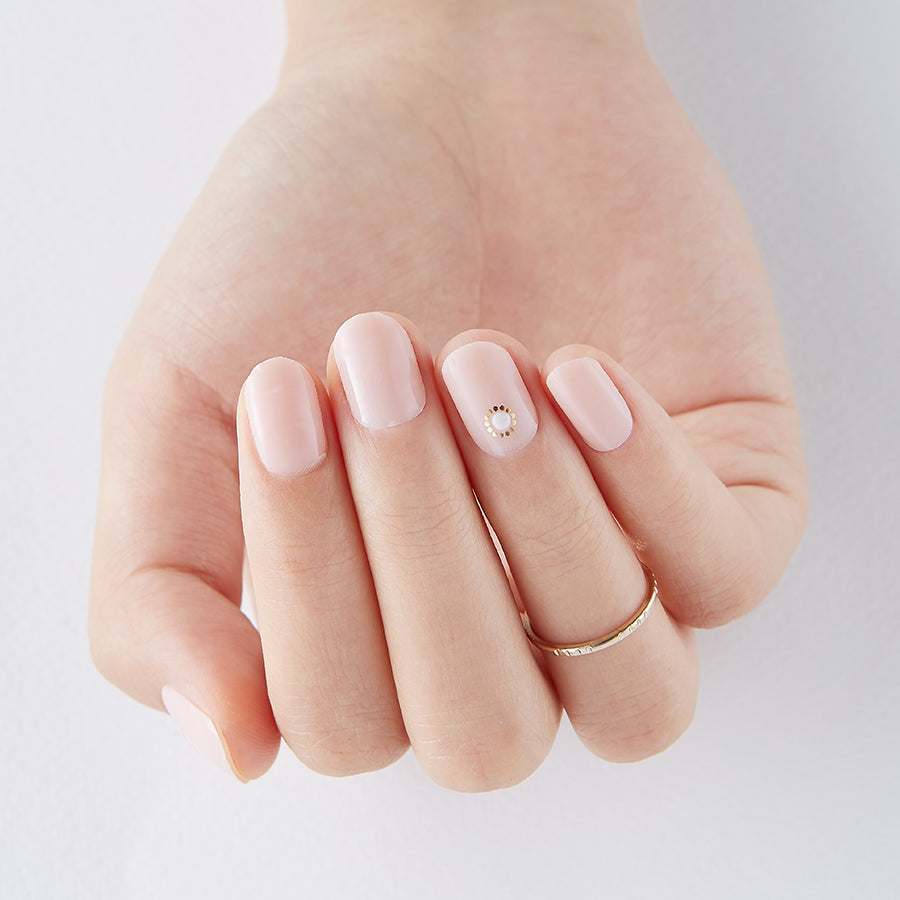 French Canvas | Tint Gloss Nude Gel Nail Strips by Dashing Diva