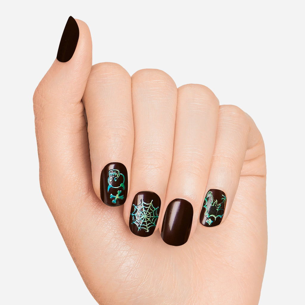 Around the Midnight | 3D Nail Art Expressions by Dashing Diva