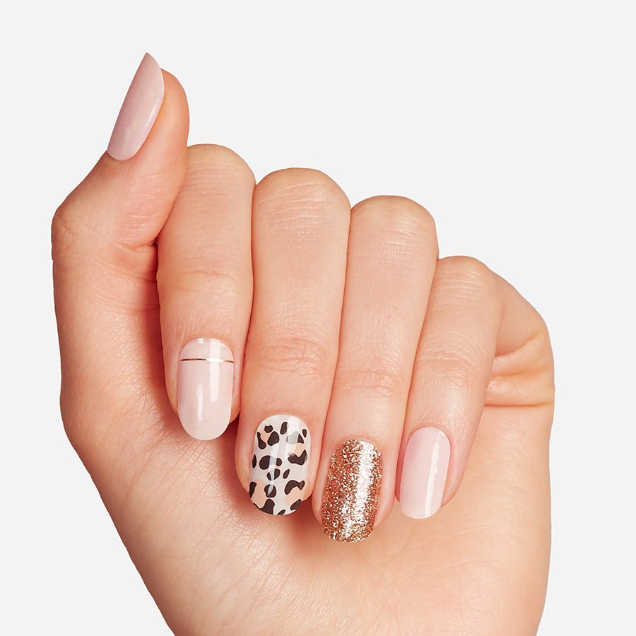 Cheetahlicious | Gloss Gel Nail Strips by Dashing Diva