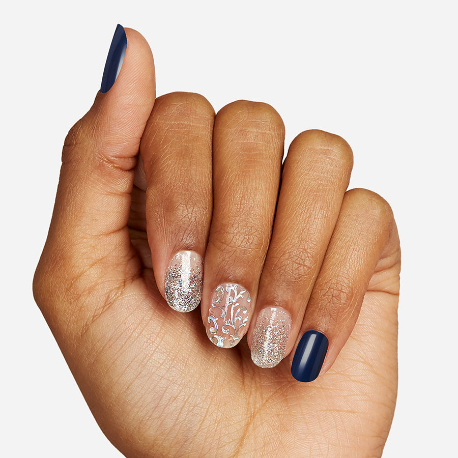 City Nights | Gloss Gel Nail Strips by Dashing Diva