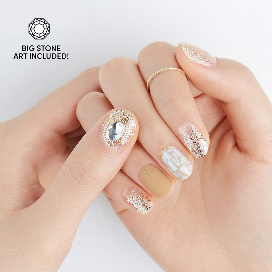 Bling all Day | Gloss Gel Nail Strips by Dashing Diva