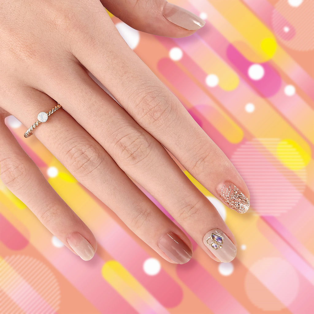 Easy Street | Gloss Gel Nail Strips by Dashing Diva