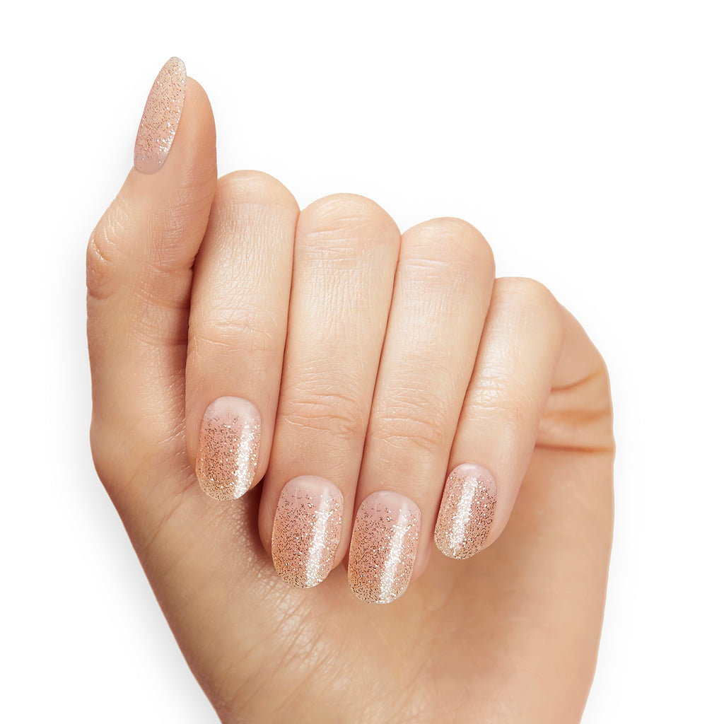 Champagne Pop | Gloss Gel Nail Strips by Dashing Diva