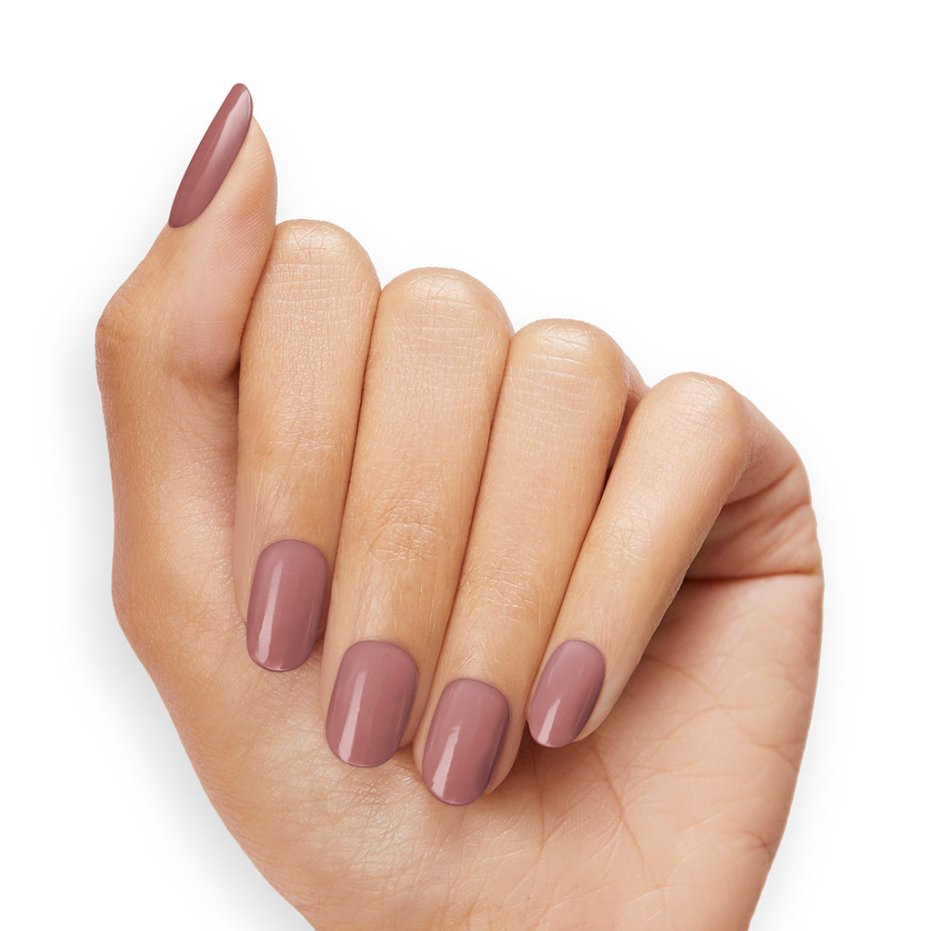 Moody Mauve | Gloss Gel Nail Strips by Dashing Diva