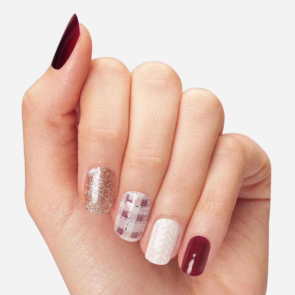 Afternoon Stroll | Gloss Gel Nail Strips by Dashing Diva