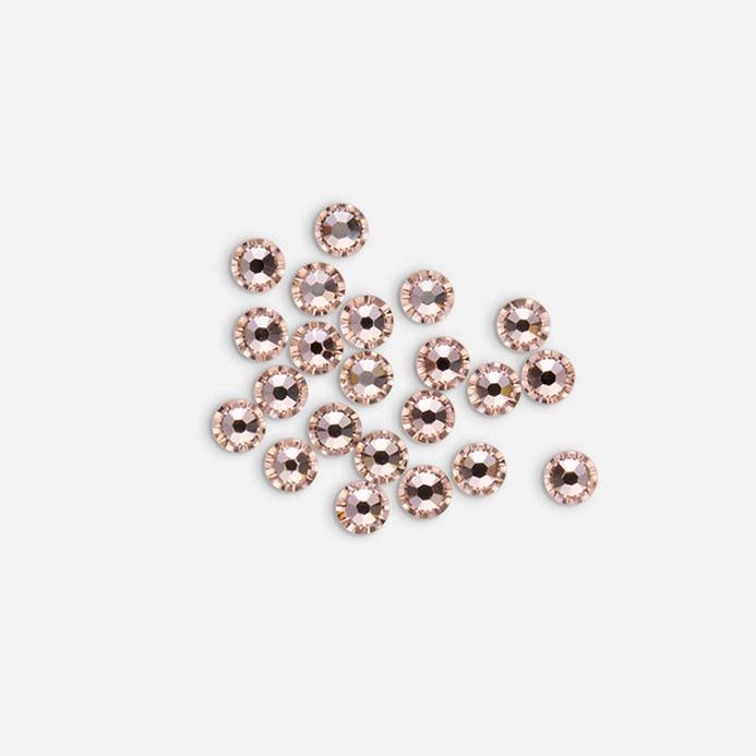 Rose Gold Ready, Set, Sparkle Small Swarovski Crystal Deco Jewels Nail Art Loose Stones 2.5mm 30 Pieces DJ07 - Dashing Diva.jpg