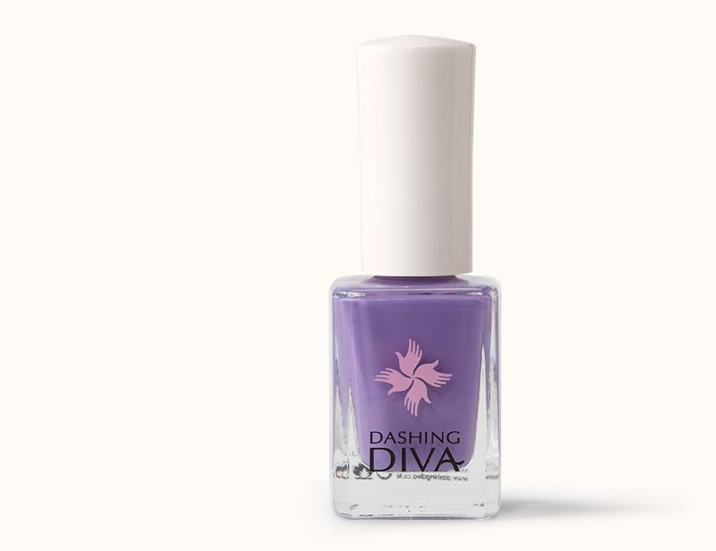 Lavender Purple Dark Mauve Paradise Nail Polish DKP052 - Dashing Diva.jpg