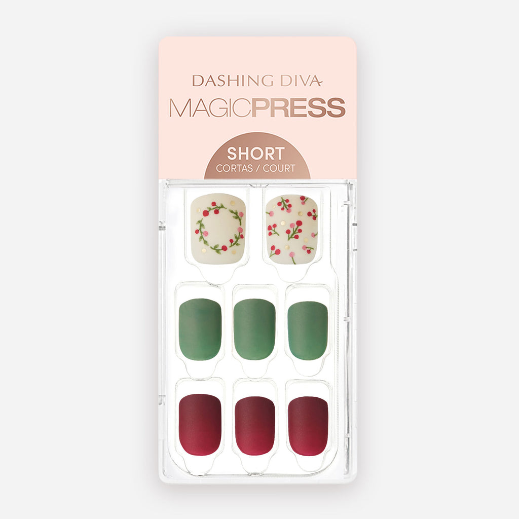 Farm Fresh - Short Magic Press Nails by Dashing Diva