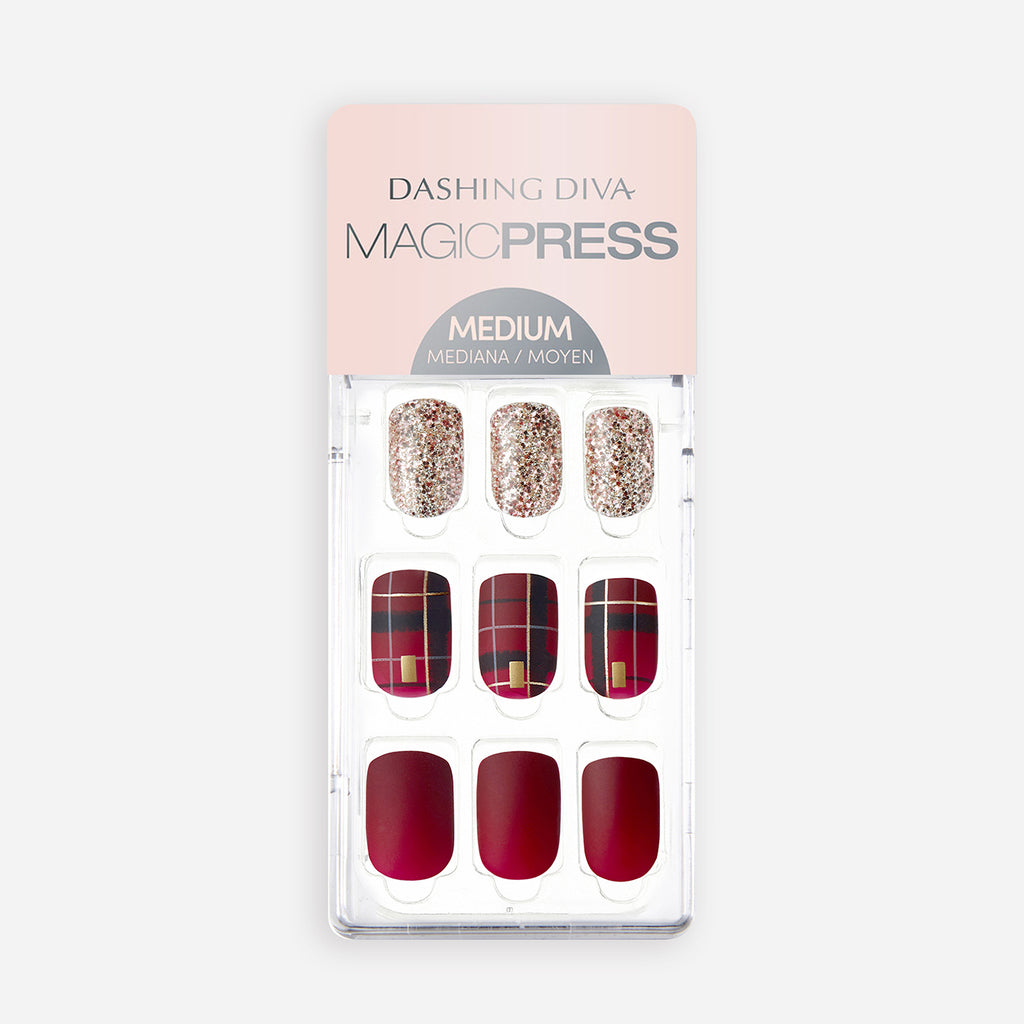 Holly Jolly | Magic Press Nails by Dashing Diva