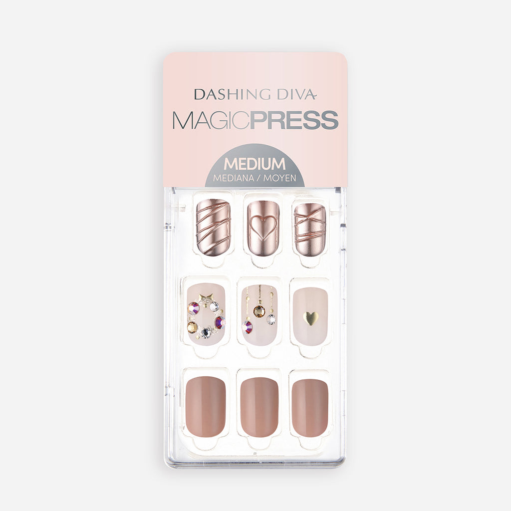 Bauble Bling | Magic Press Nails by Dashing Diva
