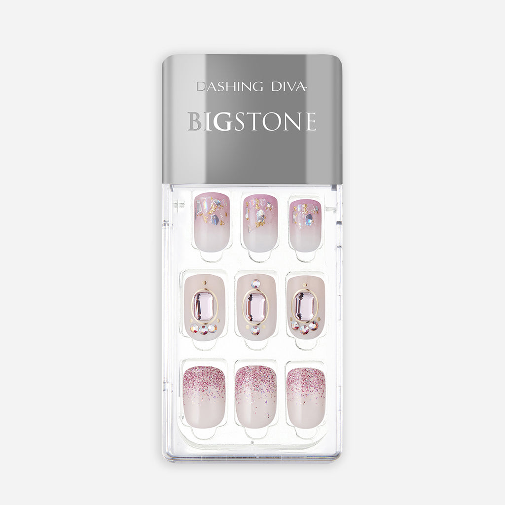 Set in Stone | Big Stone Magic Press Nails by Dashing Diva