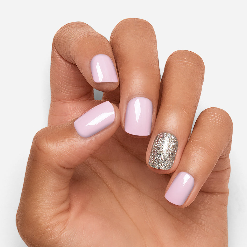 Rise Up | Pink Magic Press Nails by Dashing Diva