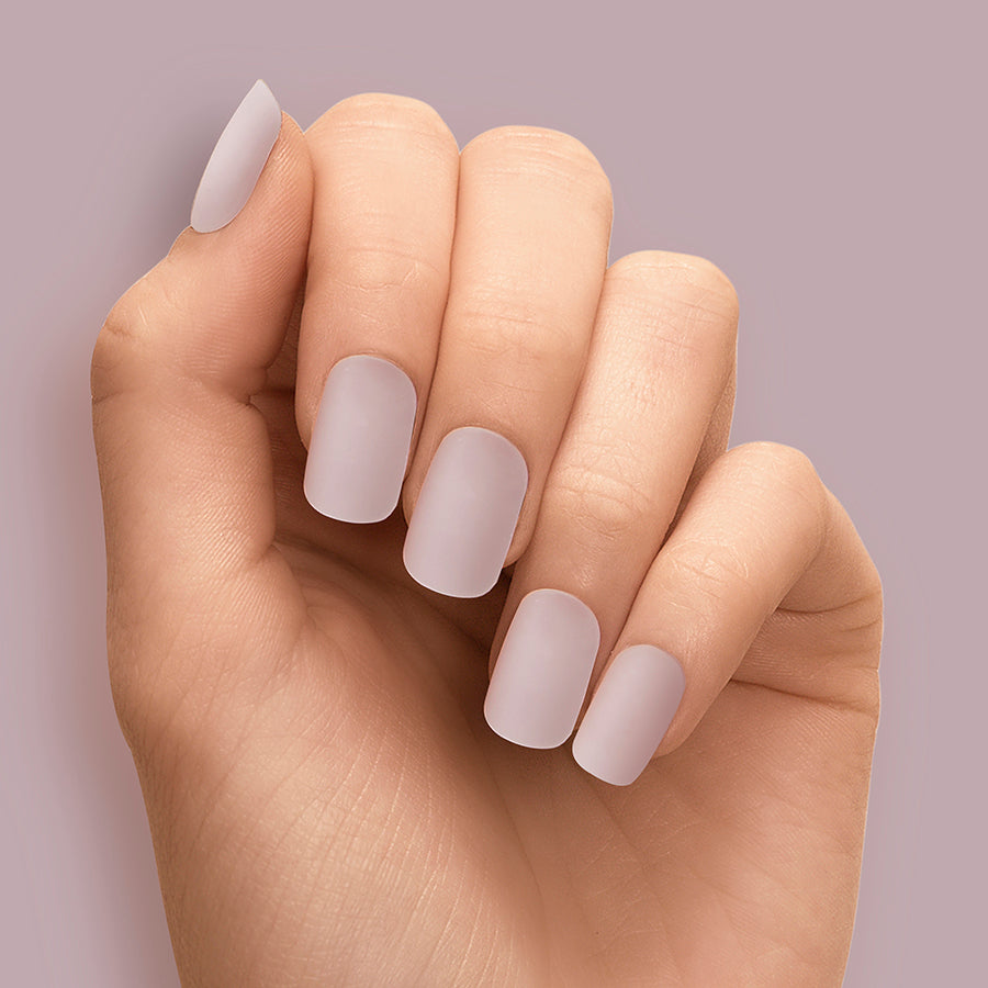 Polished Porcelain Solid Magic Press Nails by Dashing Diva