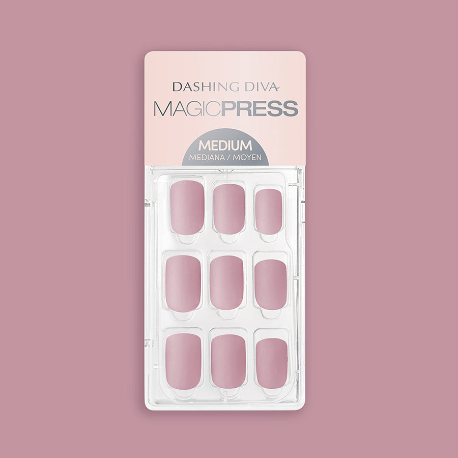 Mauve Over - Matte Finish Magic Press Nails by Dashing Diva