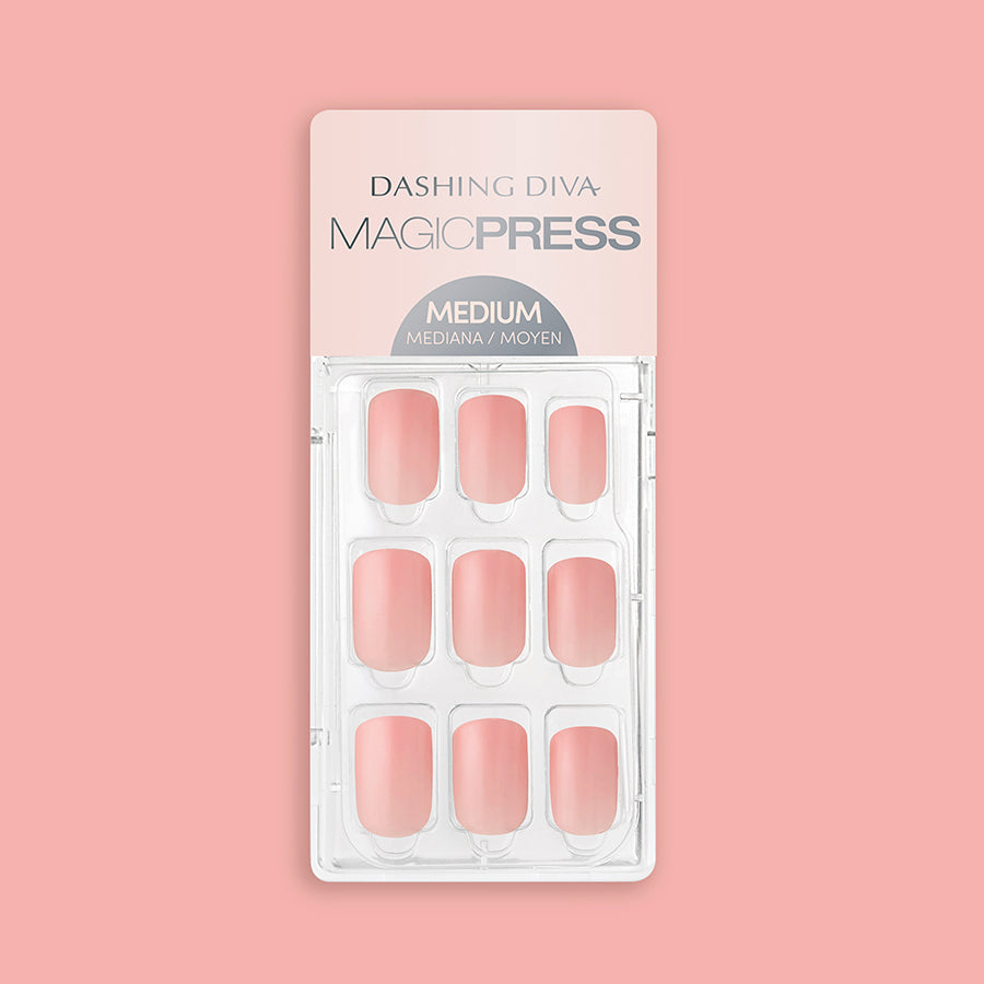 Charmeuse Champagne - Glossy Finish Magic Press Nails by Dashing Diva