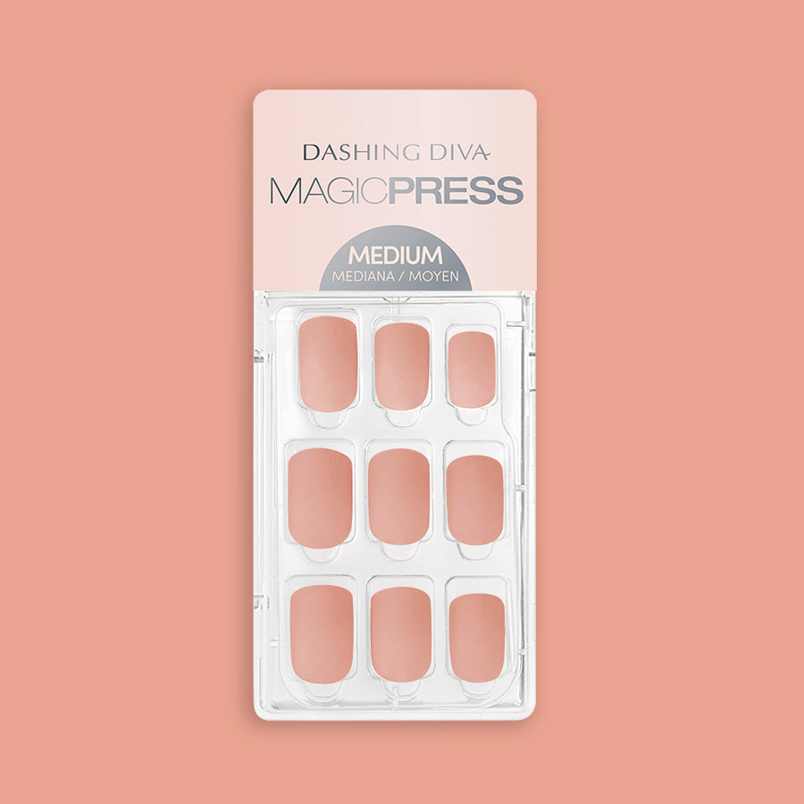 Creamy Velvet - Matte Finish Magic Press Nails by Dashing Diva