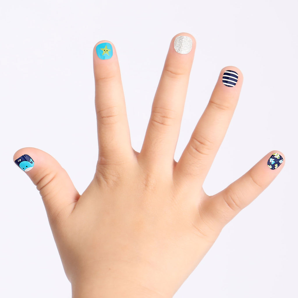 Under the Sea | Magic Pick Petite Nails for Kids by Dashing Diva