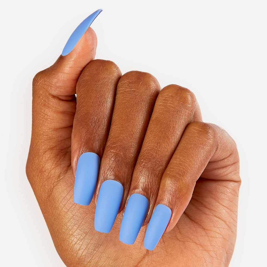 Blue Jay | Glue On Gel Nail Kit by Dashing Diva