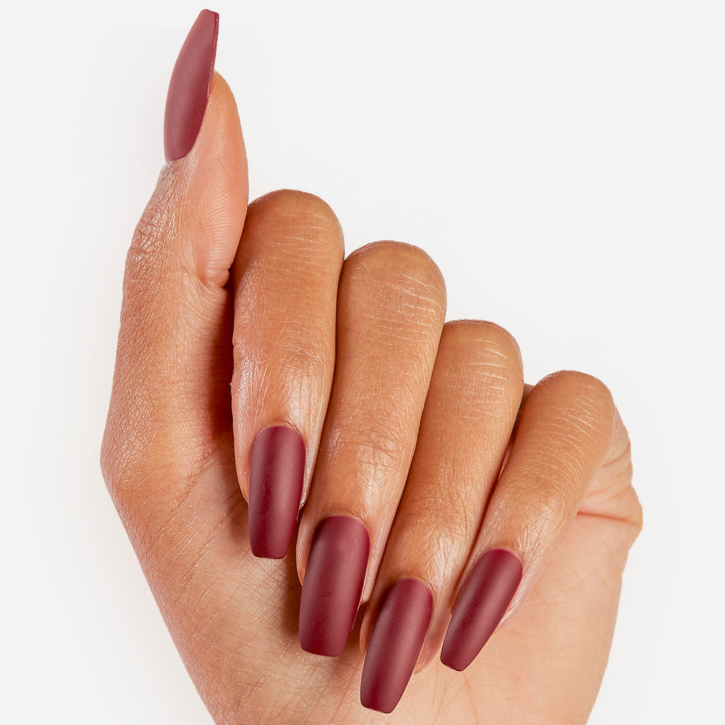 Cabernet Crush | Glue On Gel Nail Kit by Dashing Diva