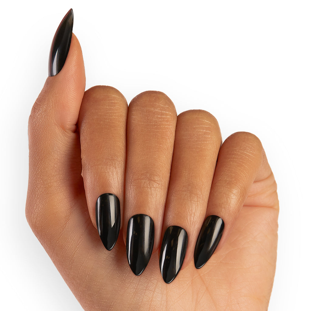 Chat Noir | Glue On Gel Nail Kit by Dashing Diva
