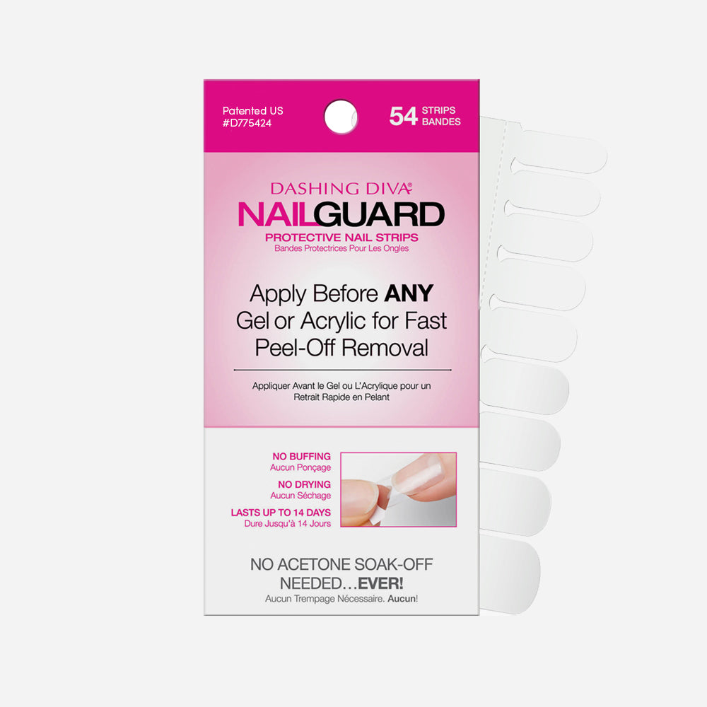 Nail Guard Protective Nail Strip- 54 Tabs
