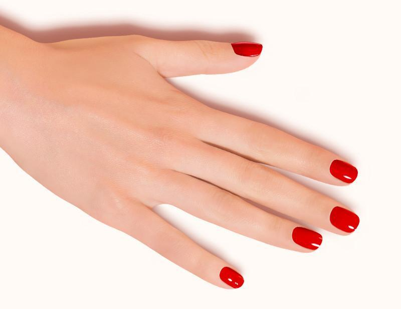 Red Be My Valentine Nail Polish DKP001 Flat - Dashing Diva.jpg
