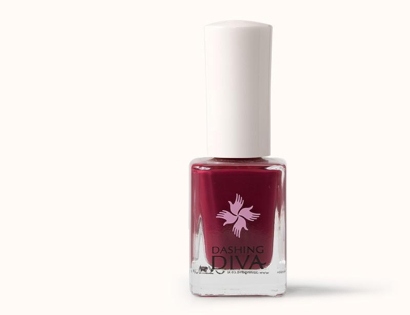 Red Dark Cherry Nail Polish DKP067 - Dashing Diva.jpg