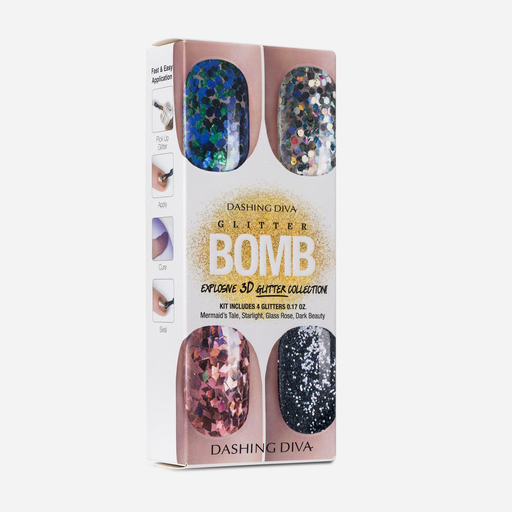 Glitter Bomb 3D Gel Nail Glitter by Dashing Diva