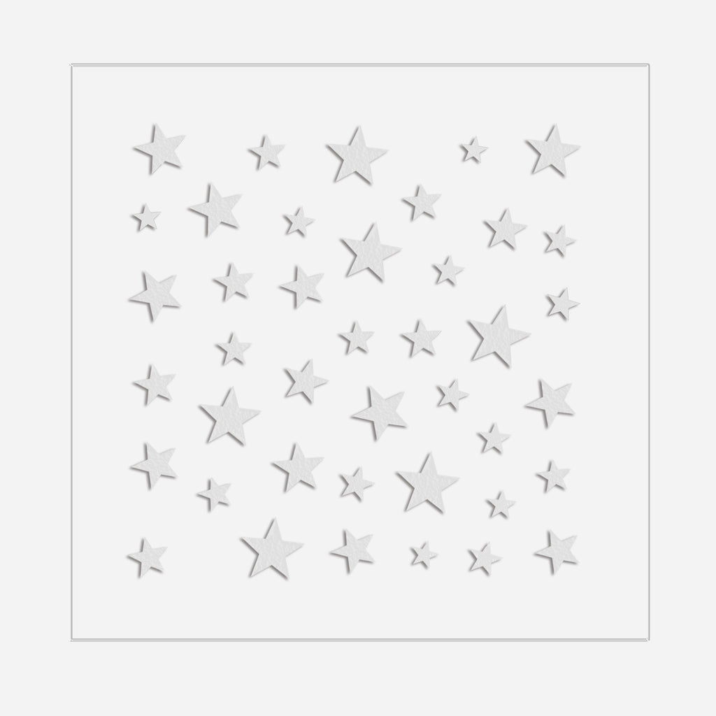 Star Power | White Nail Art Stickers by Dashing Diva