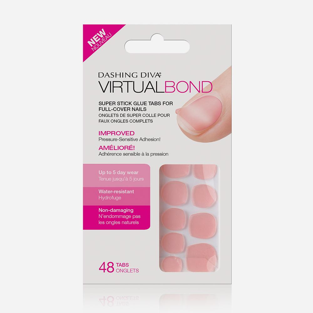 Virtual Bond Adhesive Nail Tabs by Dashing Diva