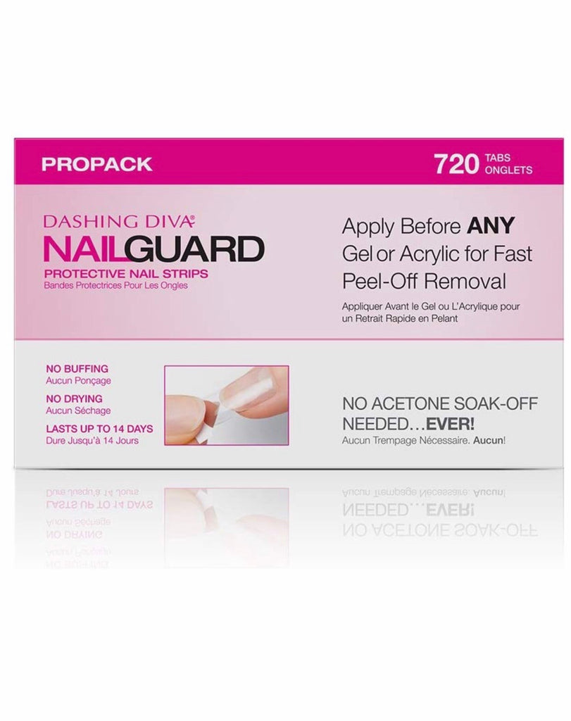 Nail Guard Protective Nail Strips- 720 Count