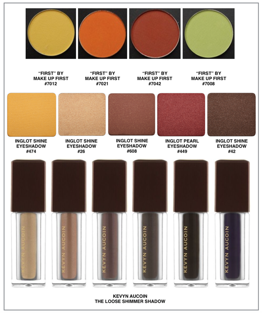 FALL in love with these Fall Colors! Make Up First ® Pro Shop