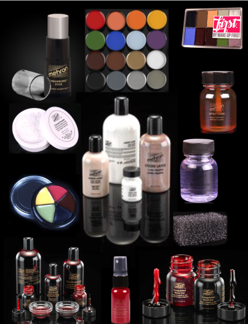 HALLOWEEN – Missing Something?  Make Up First ® Pro Shop