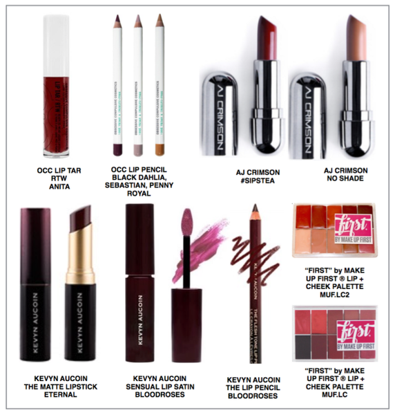 Lip Products at Make Up First
