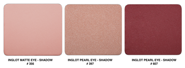 Pink Eyeshadow from Inglot