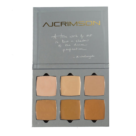 AJ Crimson Foundation Palette