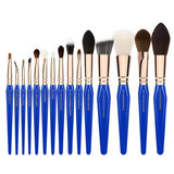 Golden Triangle PHASE II COMPLETE 15PC. BRUSH SET WITH POUCH