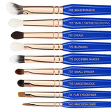 GOLDEN TRIANGLE PHASE III COMPLETE 15PC. BRUSH SET WITH POUCH