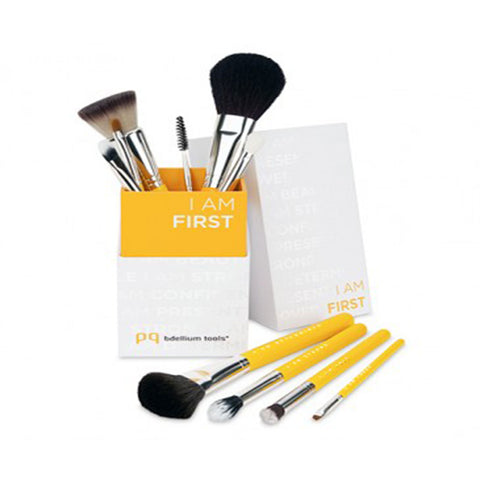 I Am First 10-Piece Brush Set with Brush Holder