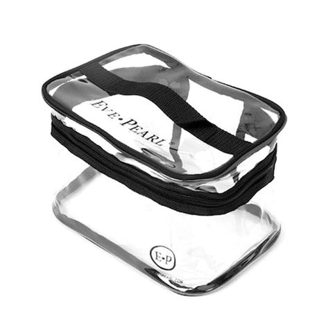 EVE PEARL Essential Clear Makeup Bag
