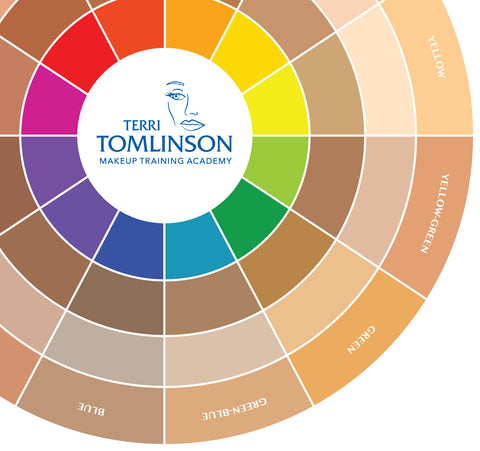 TERRI TOMLINSON FLESH TONE COLOR WHEEL