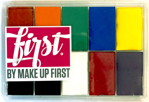 FIRST By Make Up First® (MAQPRO) Primary Slim Palette