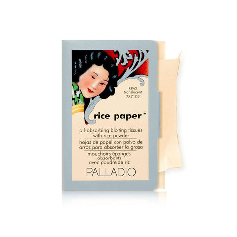 Palladio Beauty Rice Paper Oil - Absorbing Blotting Tissues